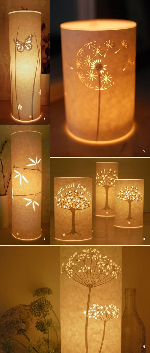 #2 paper pattern diy lampshade idea for your home